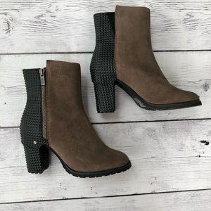 Von Dutch Moto Studded Ankle Boots